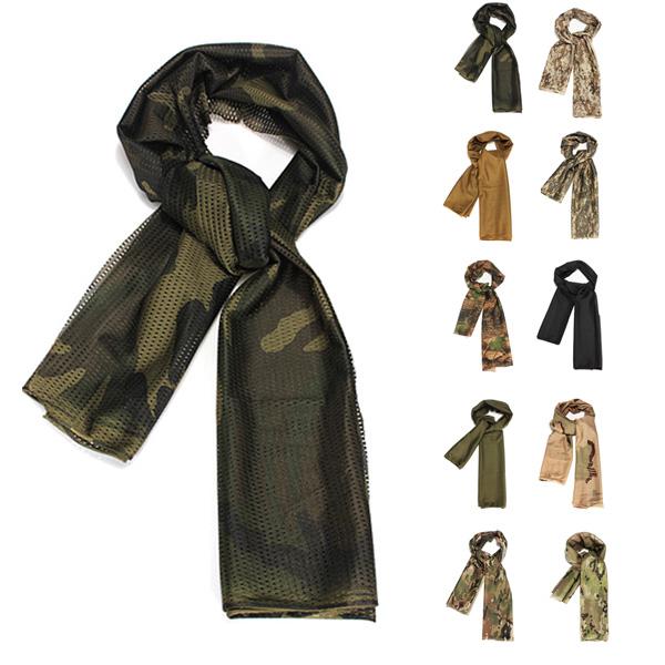 Камуфляжный тактический шарф